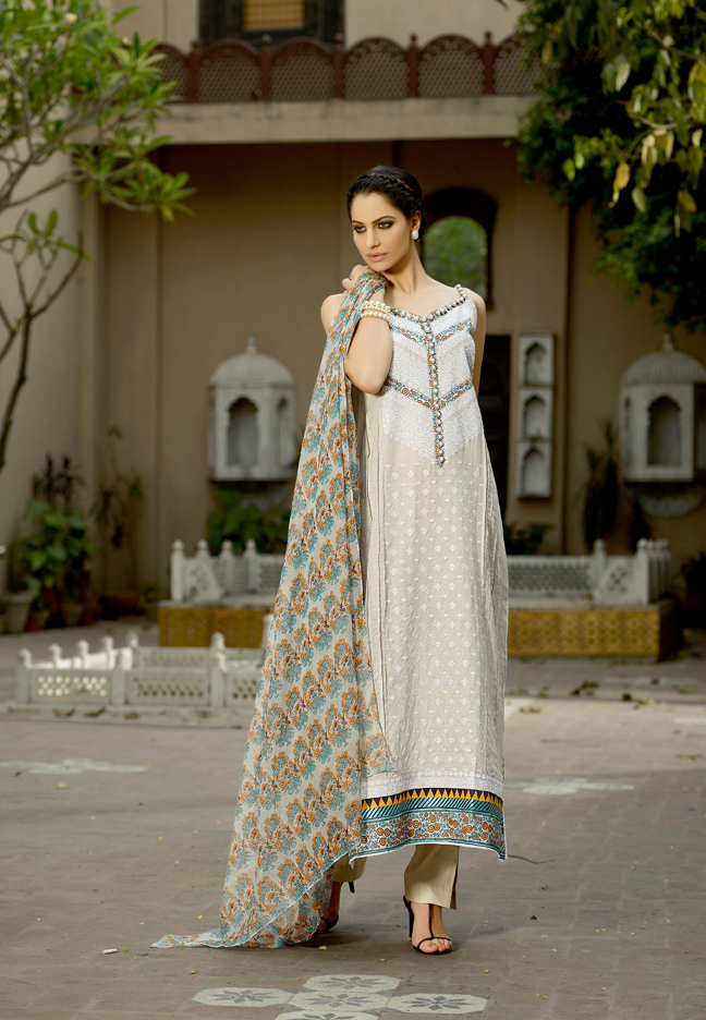 Khaadi Embroidered Eid Collection 2013 for women