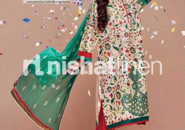 Nishat Linen Eid pret collection 2021 with Prices