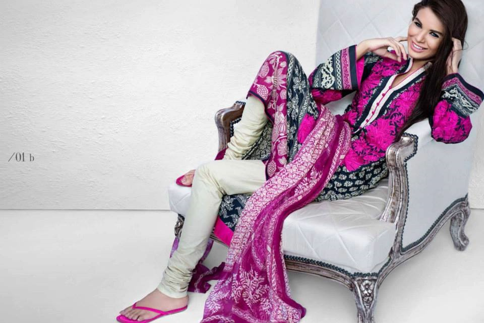Sana Safinaz Eid collection 2013 for Girls and Women's