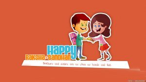 Kids Wears on Happy Raksha Bandhan
