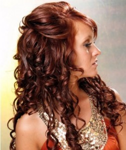 Curly Long Hairstyles Variations