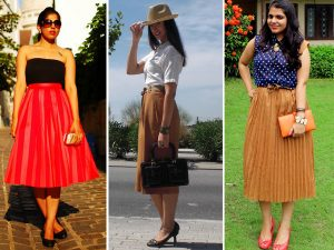 Top 5 Rocking Looks of Midi Skirt Trend in 2013