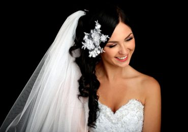 Bridal Wedding Hairstyles with Flowers and Veil