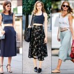 2014 Rocking Looks of Midi Skirt Trend