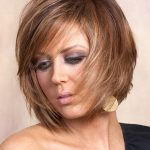 For thick hair short layered hairstyle