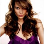 For Round Faces Layered Hairstyles in Long length hairs