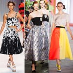 Latest Trend Top 5 Rocking Looks of Midi Skirt 2014