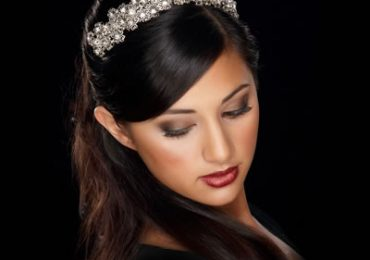 African American bridesmaid Wedding Hairstyles with Long Hair