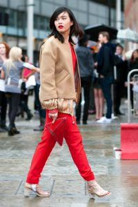 Best Street Styles from London Fashion Week spring 2014