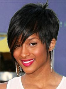 African American Bridal Prom Hairstyles for Short Hair