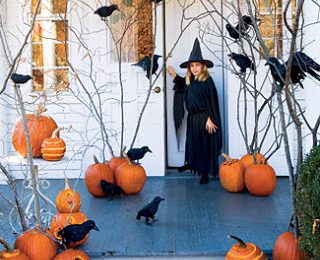 Ways to Decorate Your Front Porch for Halloween
