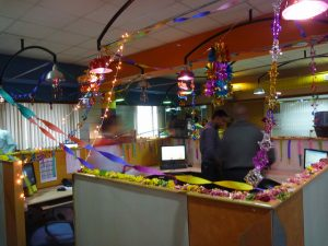 Diwali Decoration Ideas for Office Bay Decoration