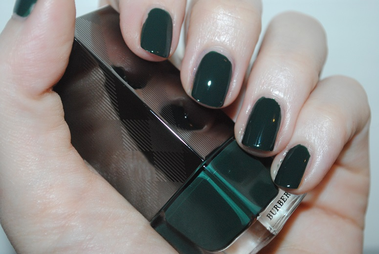 burberry nail polish green shade