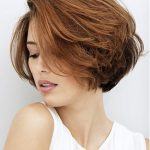short side swept hairstyles 2018