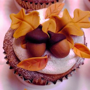 How to Decorate Thanksgiving Cupcakes