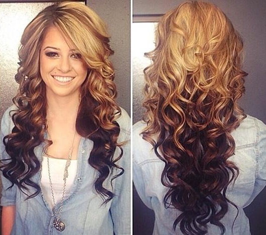 Curly Hairstyles for Women with long hairs 2014 - styloss.com