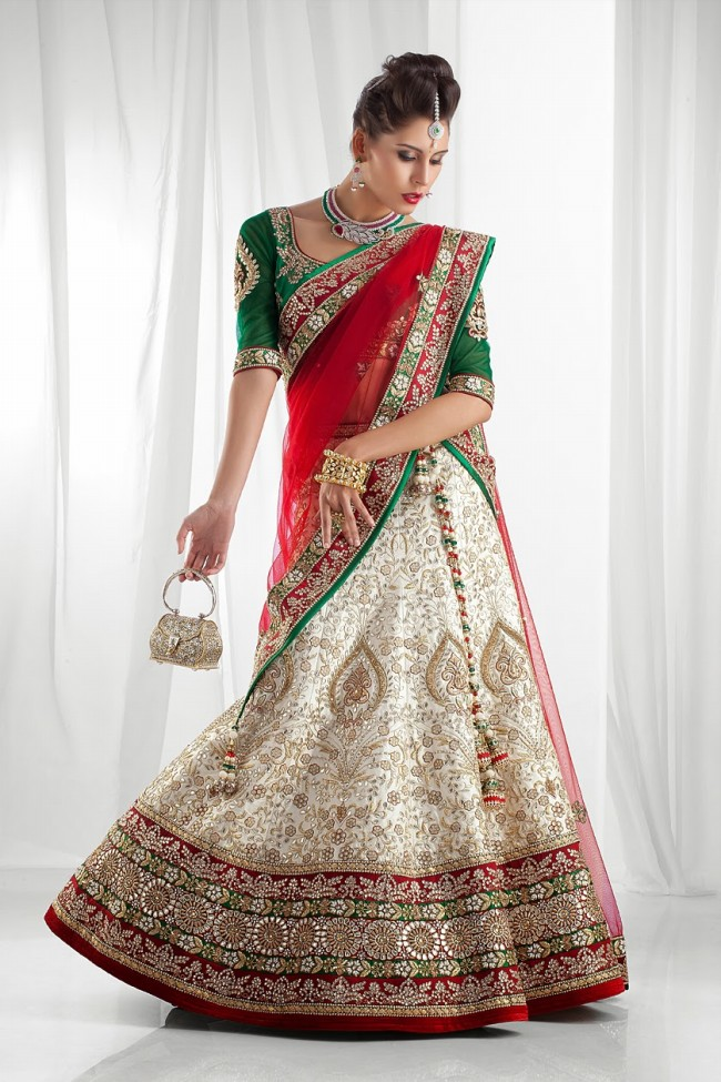 Bridal dresses 2018 collection wedding gowns trends in indian for Indian bridal wedding dresses