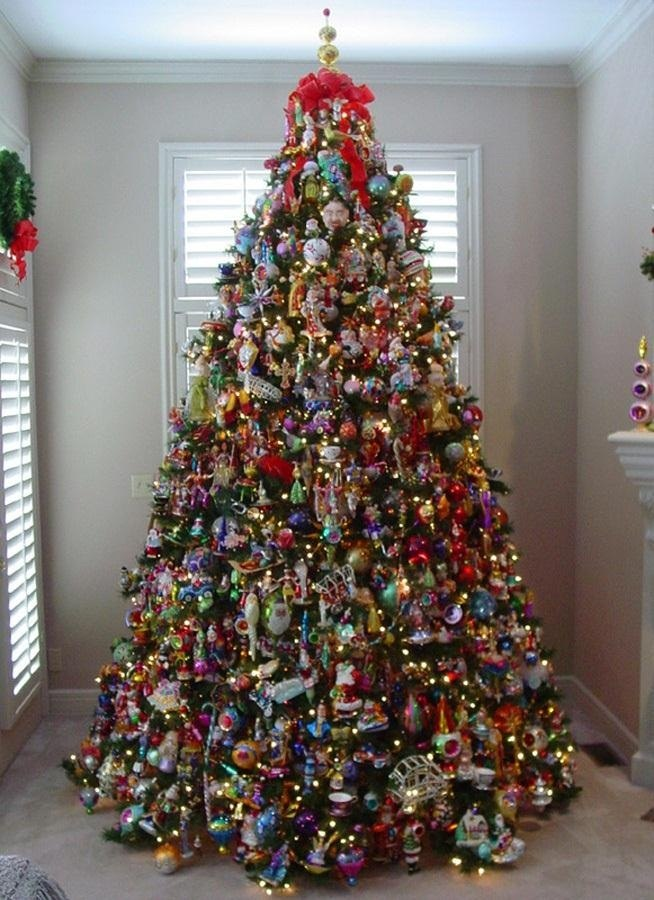 7 for How to decorate a christmas tree professionally