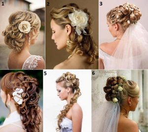 Wedding Hairstyles for Long Hair with Braids and Flowers