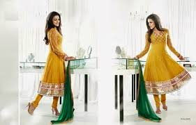 Anarkali Indian Winter Collection