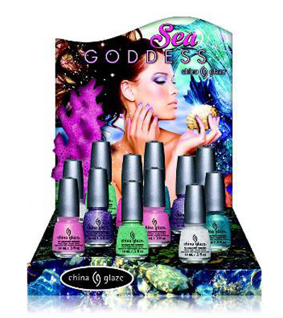New China Glaze Sea Goddess Collection for Spring 2014