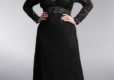Prom Dresses 2021 with Long Sleeves for Plus Size
