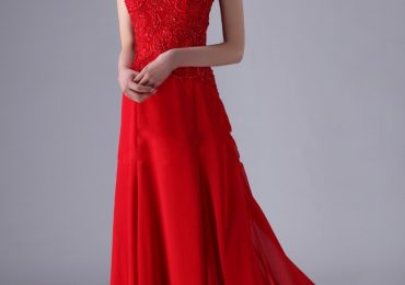 Red Prom Dresses with Long & Short Sleeves