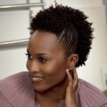 Hairstyles with short braids black women
