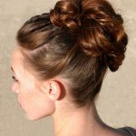 easy updo hairstyles pictures