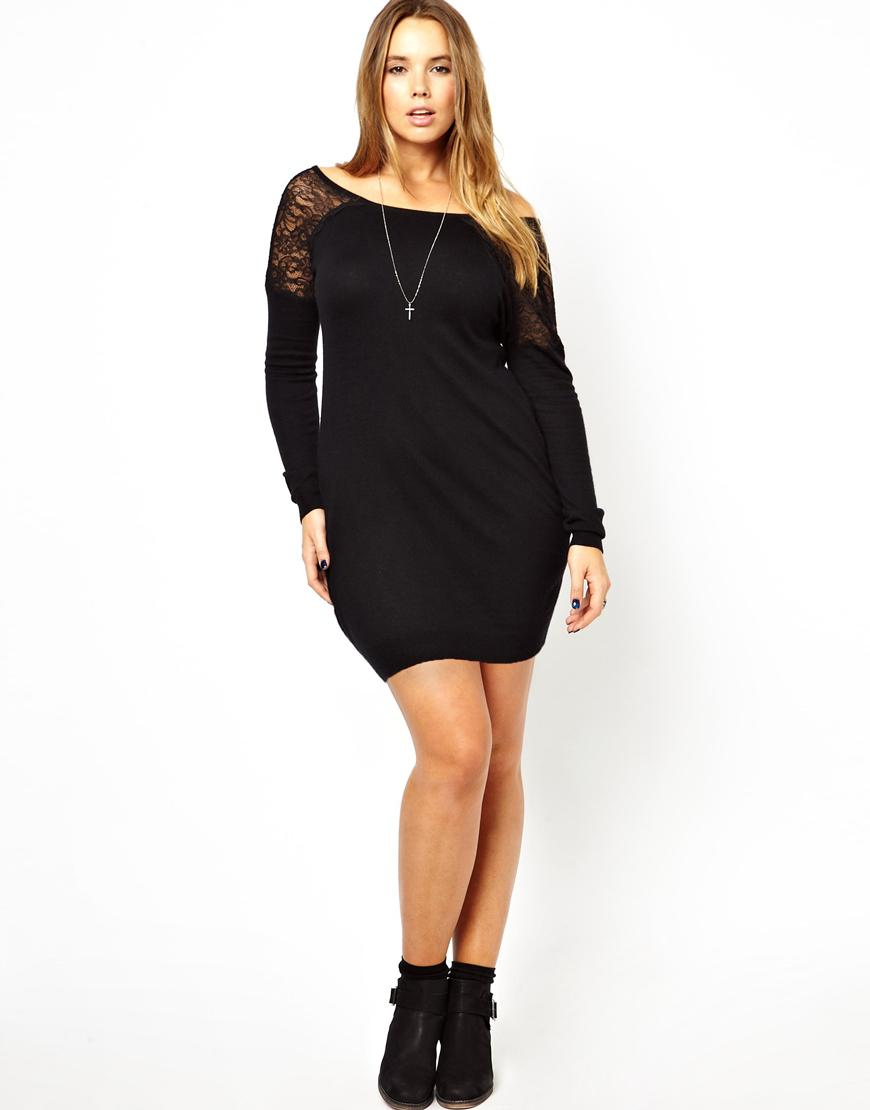 black long sleeve plus size dresses « Bella Forte Glass Studio