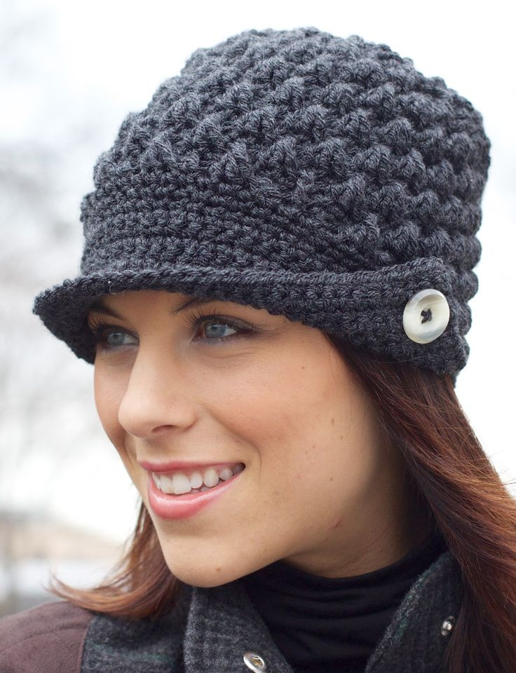 Knitted Newsboy Hat Pattern