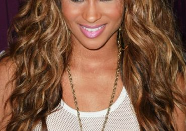 Ombre Hairstyles with Bangs for Black Women