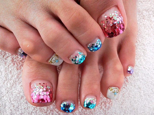 Toe Nail Art Designs Step By Step With Pictures