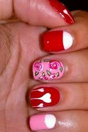 Valentine's Day Nail Art Designs and Ideas 2021