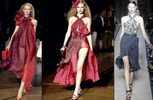 Latest Dresses Designs of Yves Saint Laurent