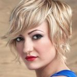 Triangle face Shape Short Hairstyle
