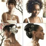 Top knot African Bridal Hairstyles