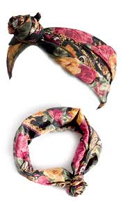 Back Knotted Head Scarf