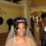 Fancy clips with side parting African Bridal Hairstyles
