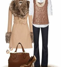 Polyvore Latest Winter Fashion Trends & Dresses Ideas for Women 2021