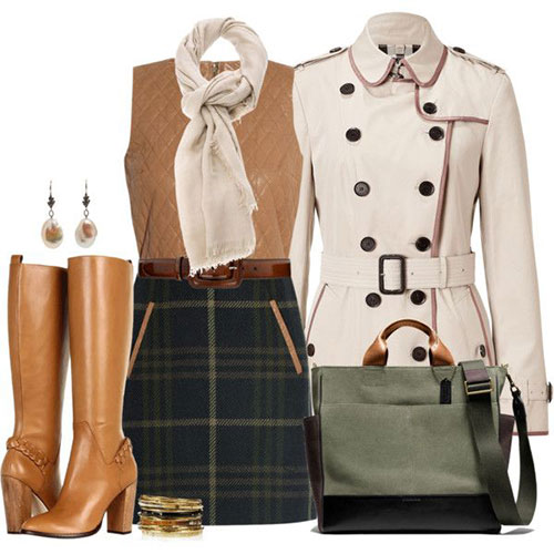 Winter outfits for school polyvore