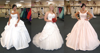 wedding dress outlet store