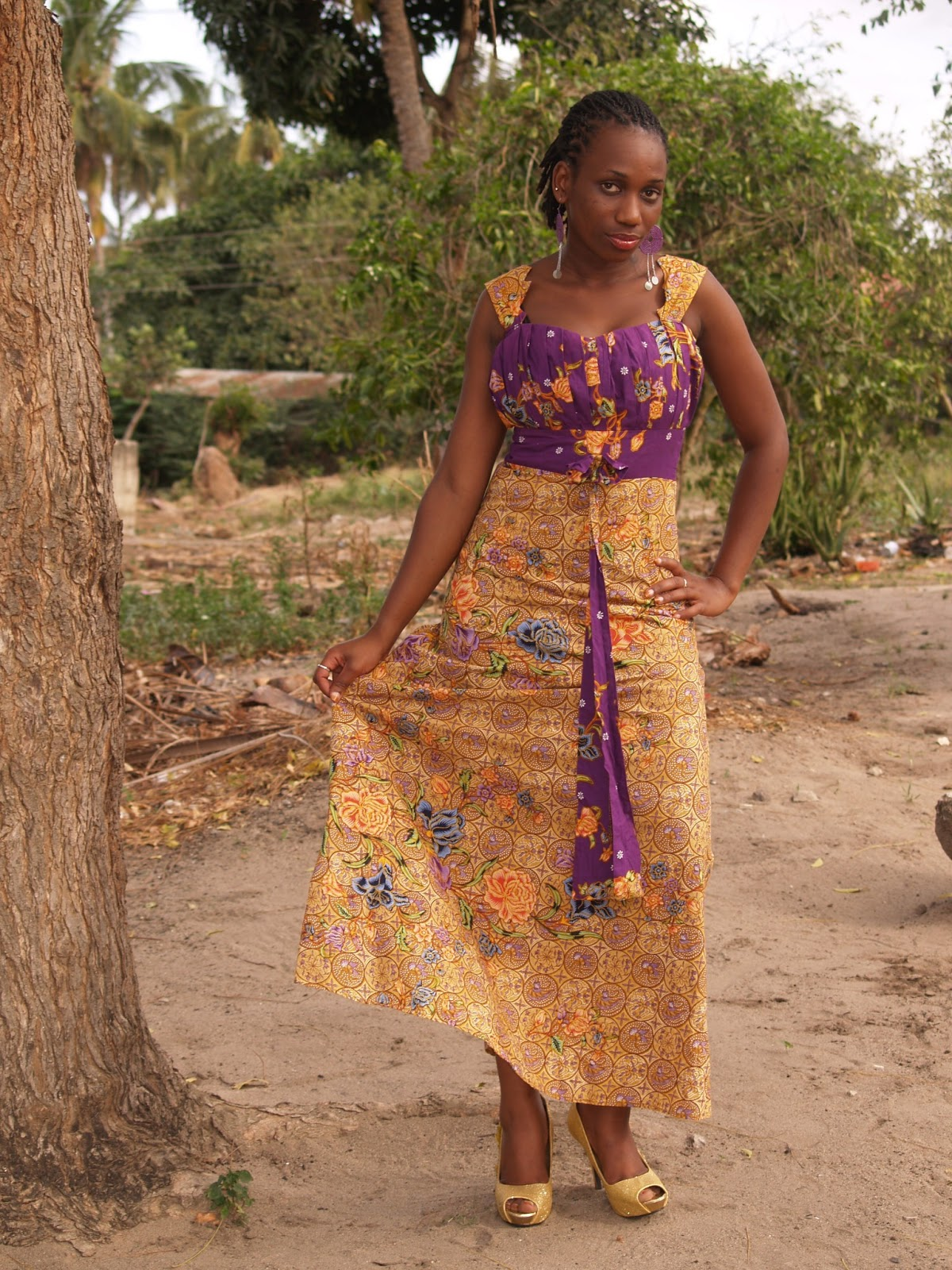 Published January 30, 2014 at 1200 × 1600 in Kitenge Evening Dresses ...