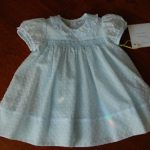 For toddlers smocked dress