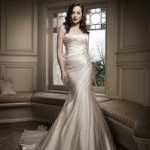 justin alexander bridal red wedding gowns
