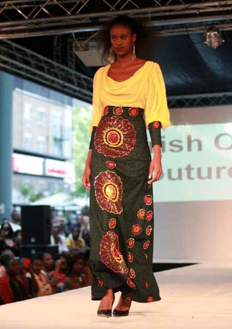 Kitenge Skirts Latest Designs High, Low Waist