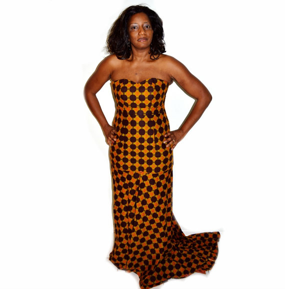 Long Dresses Designs of African outfits