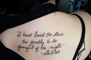 Quotation tatoos