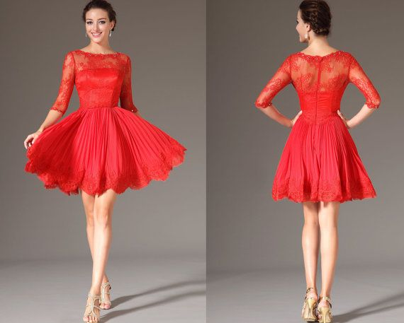 red prom cocktail dresses skirts for valentines day 2014 stylosscom