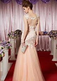 Backless Chiffon Dresses Bridal Wedding Prom Gowns Collection 2021